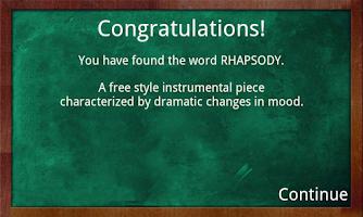 Screenshot of Educational Hangman in English