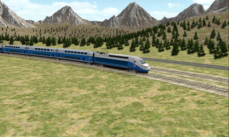 Train Sim - screenshot