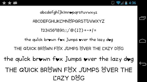 Fonts for FlipFont 50 Written  screenshots 1