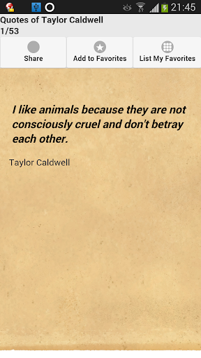 Quotes of Taylor Caldwell