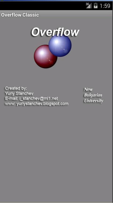 Overflow Classic - screenshot