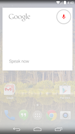 Google Now Launcher Screenshot 4