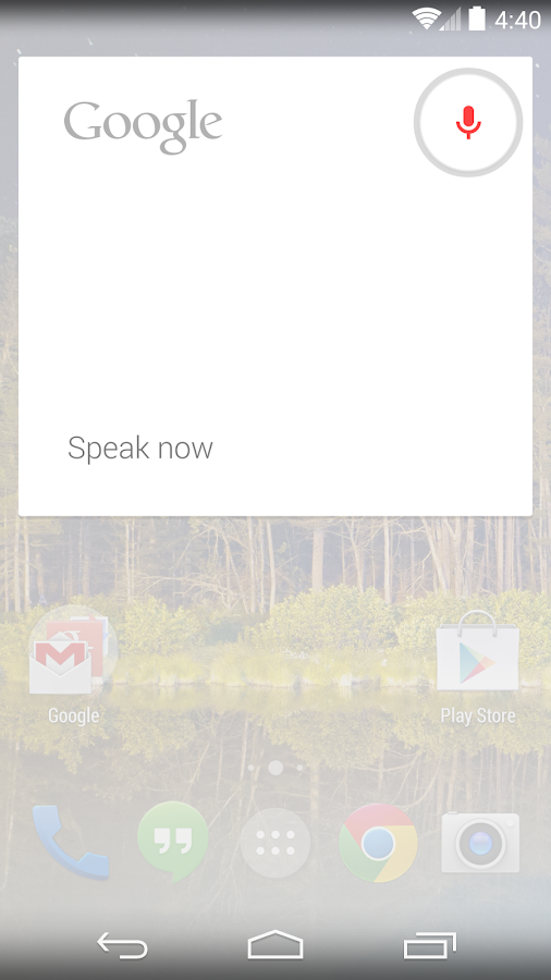 Google Now Launcher- screenshot