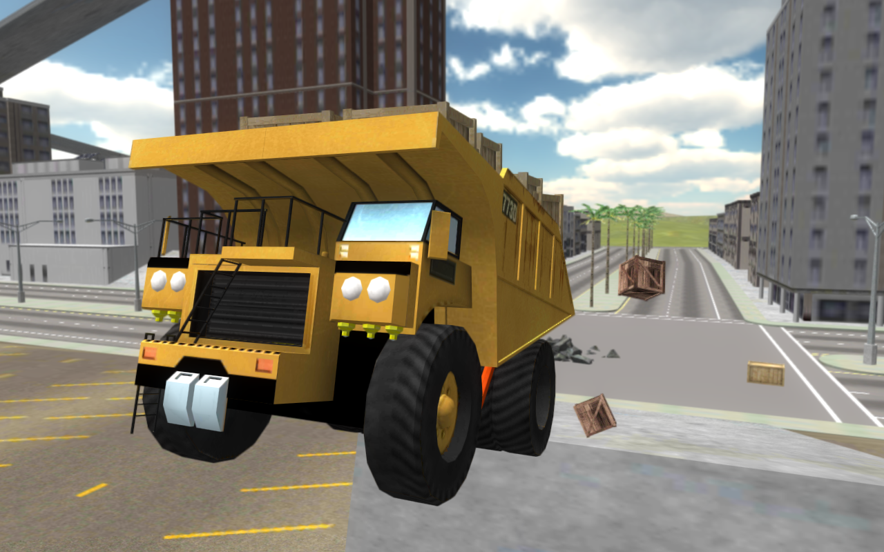 Extreme Dump Truck Simulator- screenshot