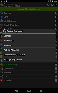 Prozessmanager (Task Manager) Screenshot