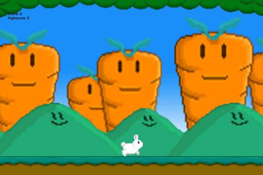 【免費休閒App】Run Bunny Run-APP點子