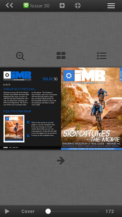 IMB Free Mountain Bike Mag - screenshot