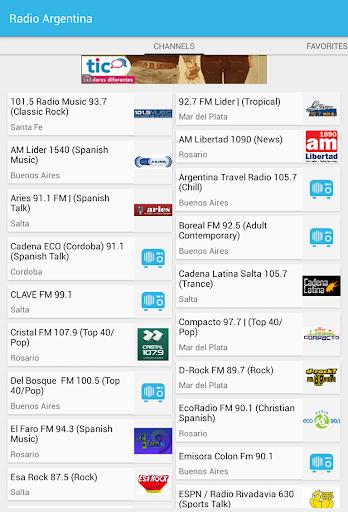 Radios de Argentina