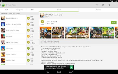 AppBrain App Market- screenshot thumbnail