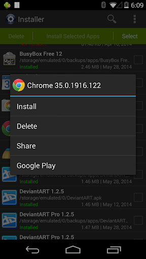 Installer - Install APK 3.4.2 screenshots 2