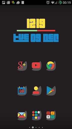 Half - Icon Pack
