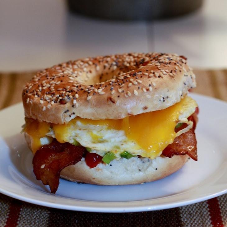 Delicious Breaky Sandwich Recipe