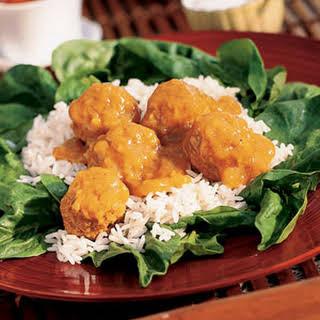 Hot Turkey Curry Salad.