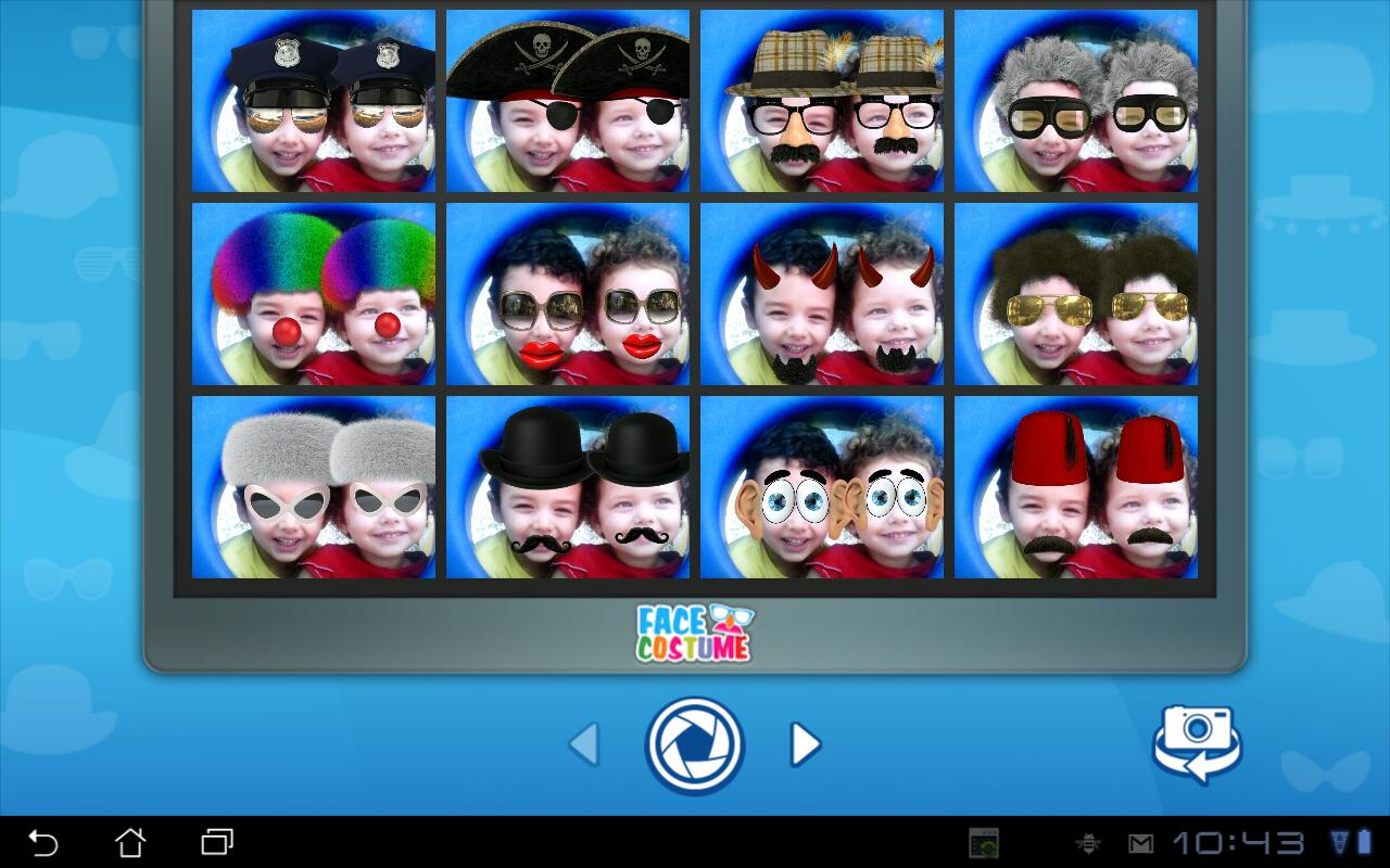Face Costume - screenshot