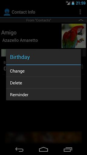 【免費社交App】Birthdays & important dates-APP點子