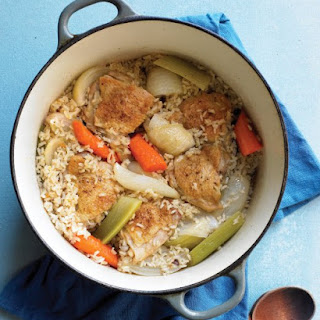 One-Pot Chicken and Brown Rice