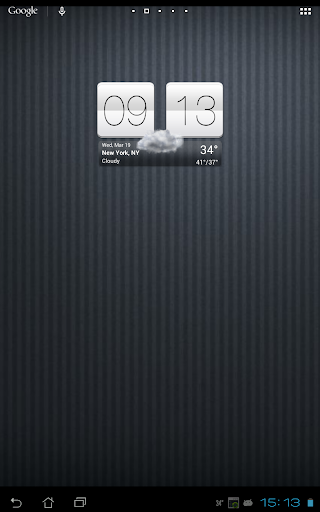 Sense V2 Flip Clock & Weather  screenshots 9