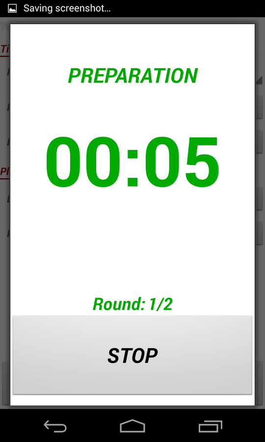 Top Workout Timer - screenshot
