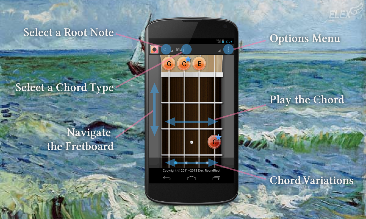 Ukulele chordscaletuner android apps on google play ukulele chordscaletuner screenshot hexwebz Image collections