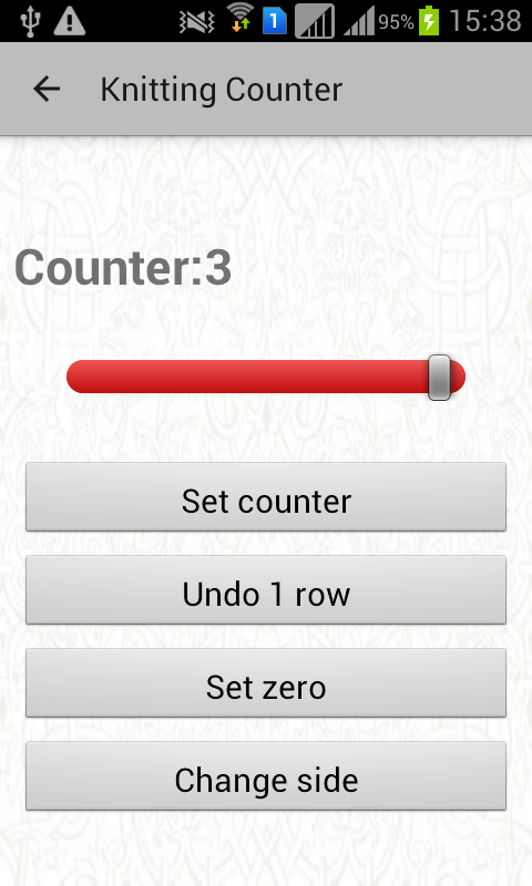 Knitting Row Counter App Android : Knitting counter android apps on google play