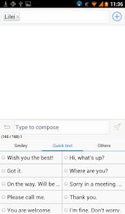 Flat White Message OS 8 Theme screenshot