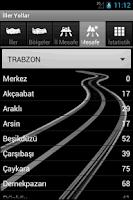 Screenshot of Iller yollar