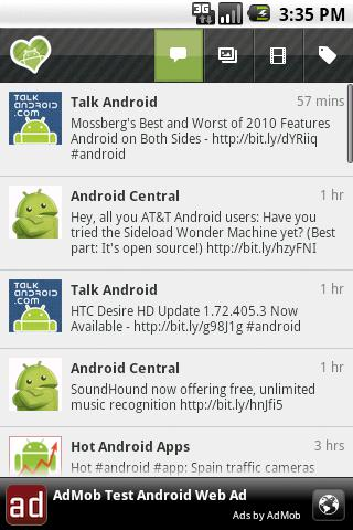iHeartAndroid: News & Videos - screenshot