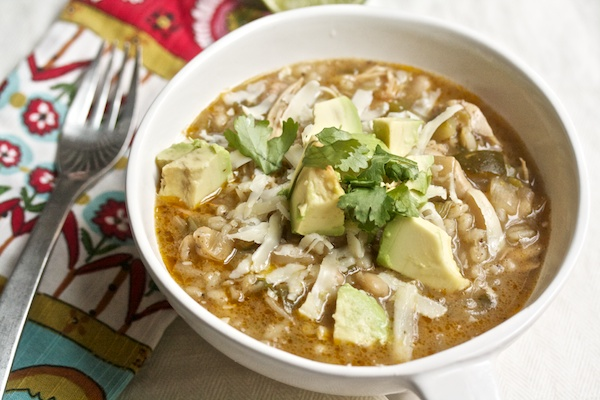 Healthy Chicken Chili with Barley Recipe