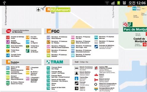Barcelona Metro 바르셀로나 지하철- screenshot thumbnail