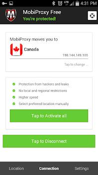 Mobiproxy - Free VPN Proxy