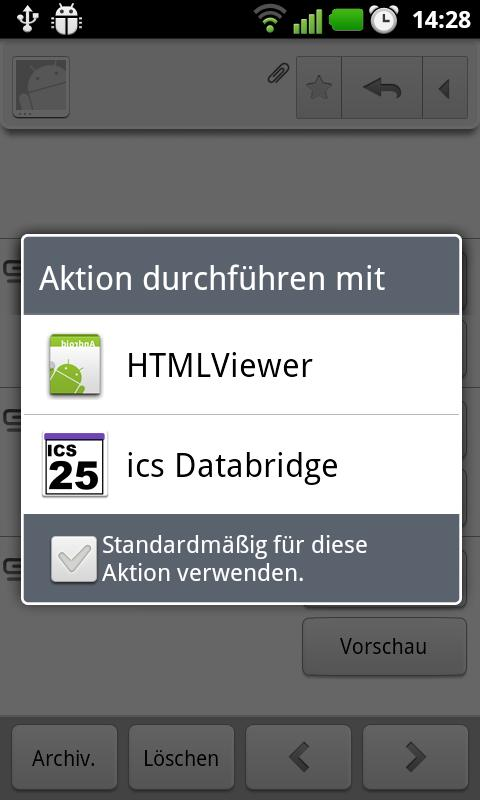 ics Databridge- screenshot