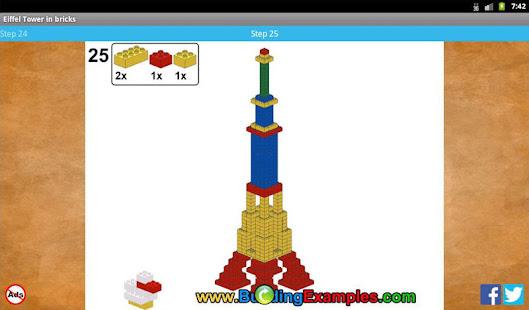 Eiffel Tower In Bricks Apps On Google Play