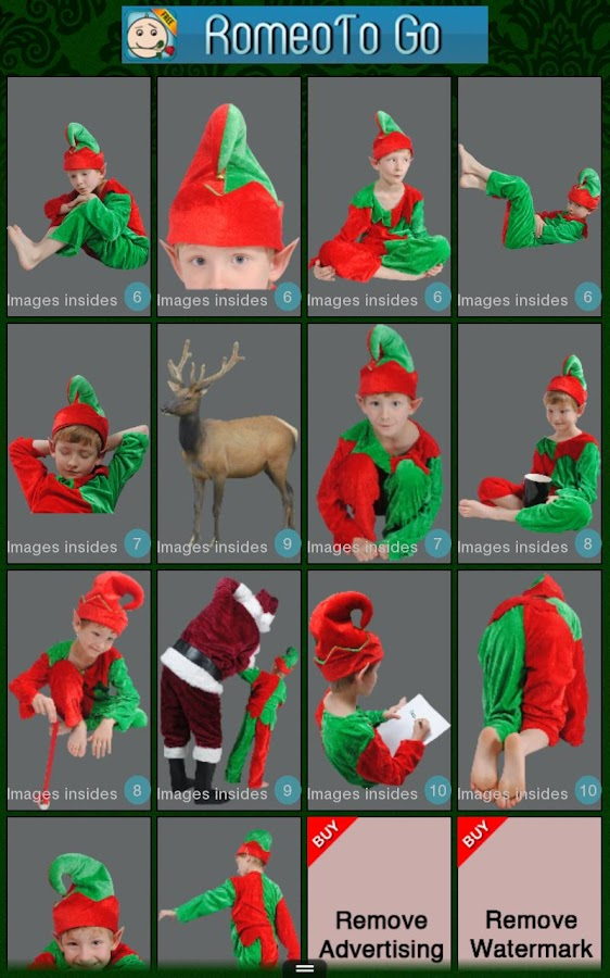 Elf Cam Phone - Christmas App - screenshot