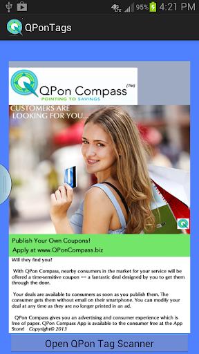 QPonTags Scanner for QPon