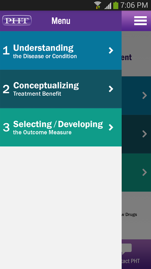 FDA Roadmap by PHT - screenshot