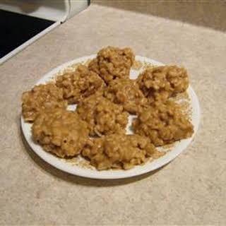 No Bake Peanut Butter Cookies II.