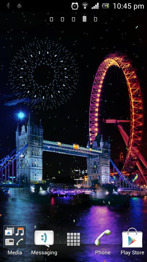 Firewoks London Pro Hd Theme - screenshot