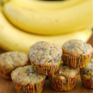 Mini Banana Bread Muffins.