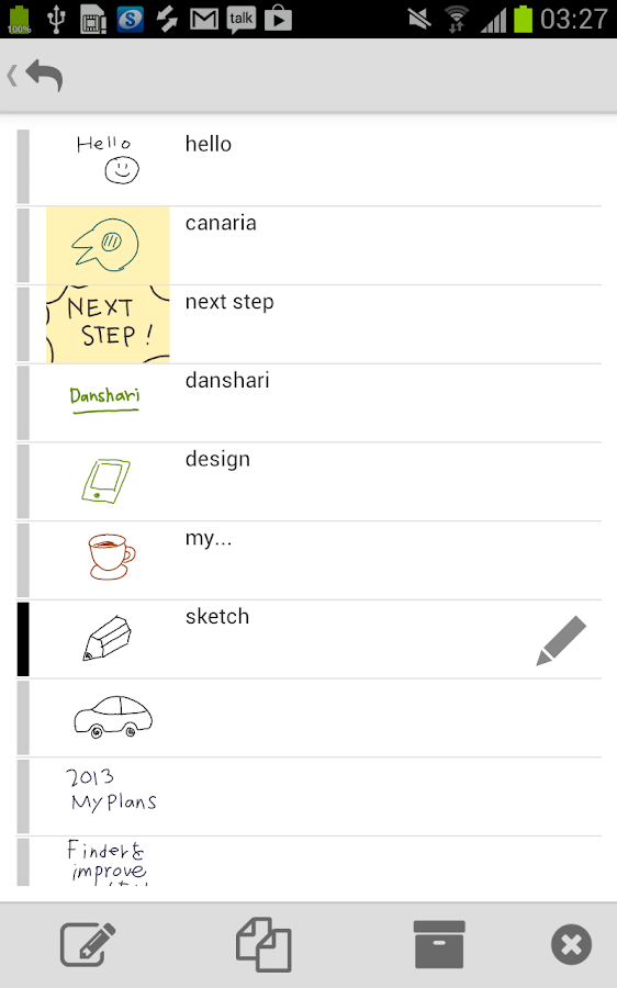 MindBoard Pro for S-Pen - screenshot