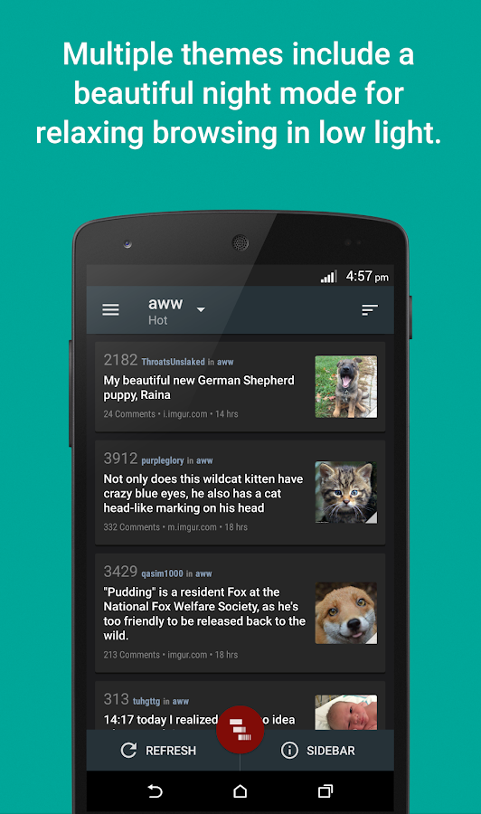 Reddit News - screenshot
