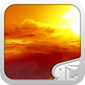 Sunset 3D Live Theme (FREE) icon