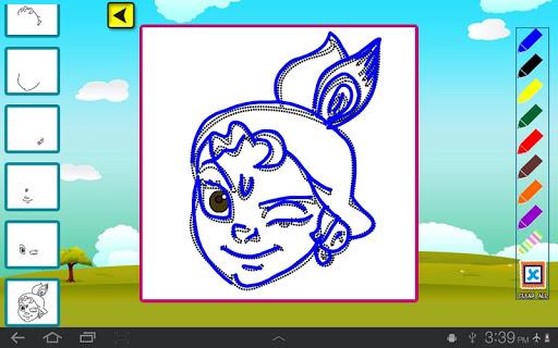 玩免費娛樂APP|下載Draw & Color Chhota Bheem app不用錢|硬是要APP