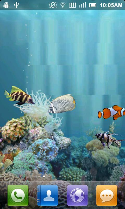 Aquarium Free Live Wallpaper - screenshot