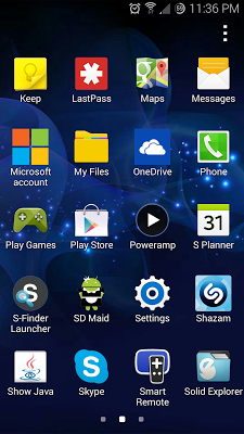 S-Finder Launcher - screenshot