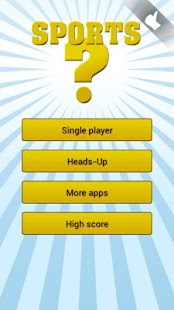 Sports quiz | 1 + 2 players - screenshot thumbnail