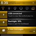 CM10/CM9 Gold Rush Theme icon