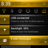 CM10/CM9 Gold Rush Theme