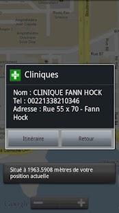 SenGeoSante Santé Sénégal- screenshot thumbnail