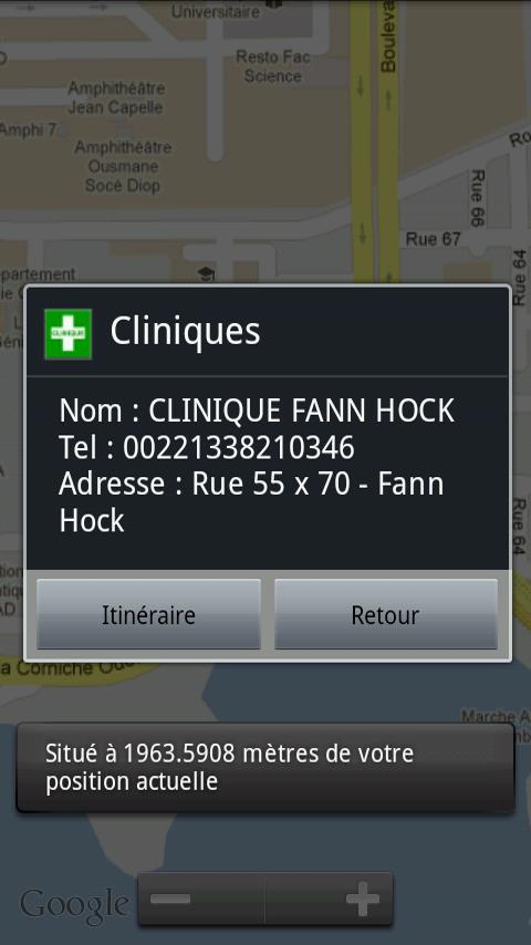 SenGeoSante Santé Sénégal- screenshot