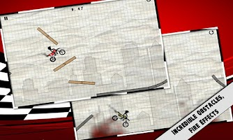 Screenshot of Stick Stunt Biker
